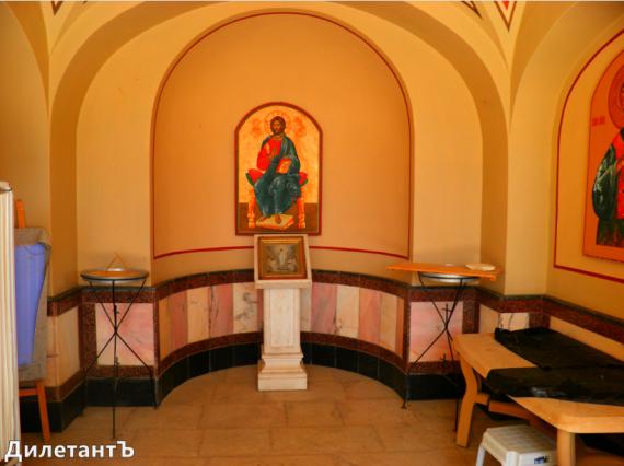 Келья под Храмом Марии Магдалины