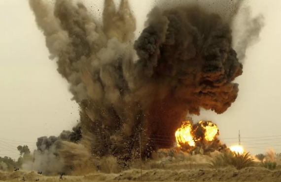 взрыв тоннеля